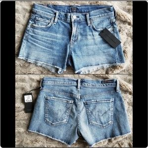 NWT Citizens of Humanity Ava Cut-offs: Pacifica
